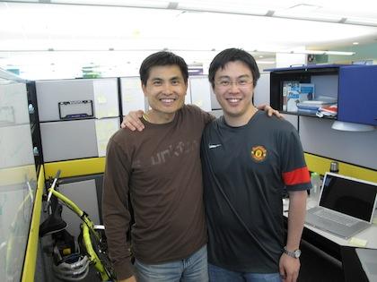 Tony & Stanley @ Yahoo