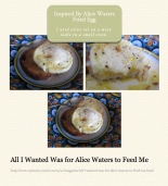 inspired by alice waters fireplace fried egg