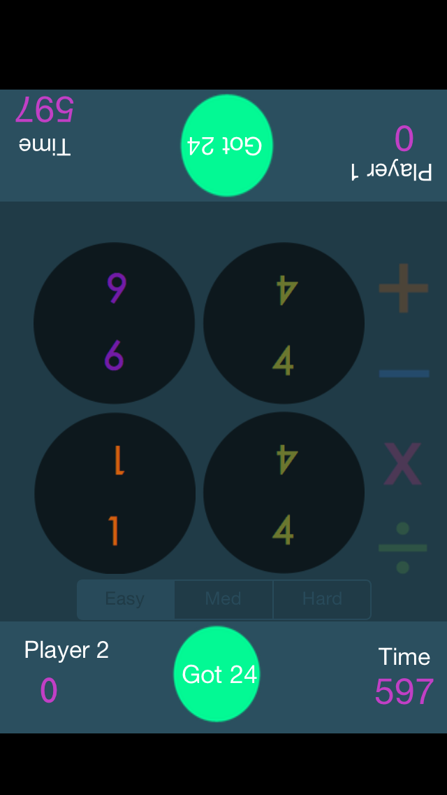 Math Get To 24 iOS App