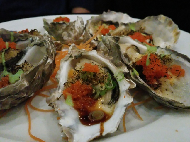 Grill oysters from I Privé