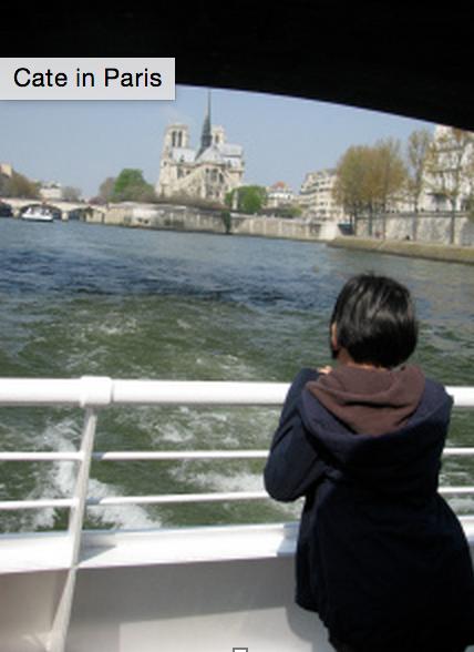 Cate in Paris