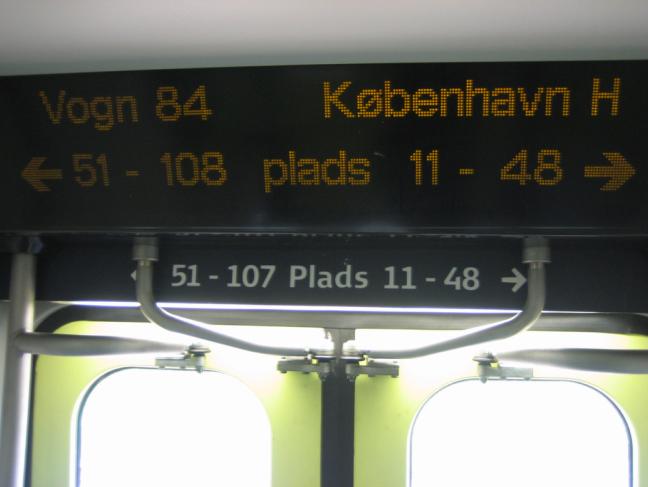 Copenhagen train