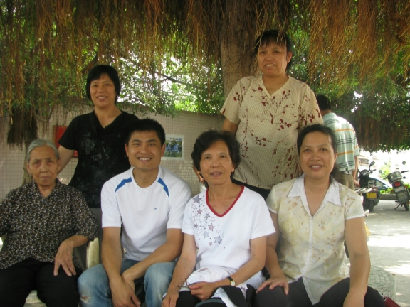 My relatives and mom