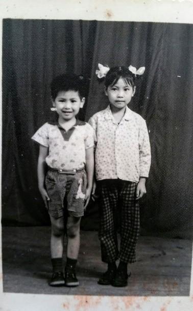 tony in China 1975