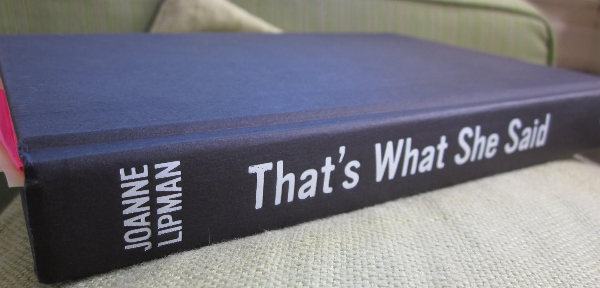 book that's what she said.jpg
