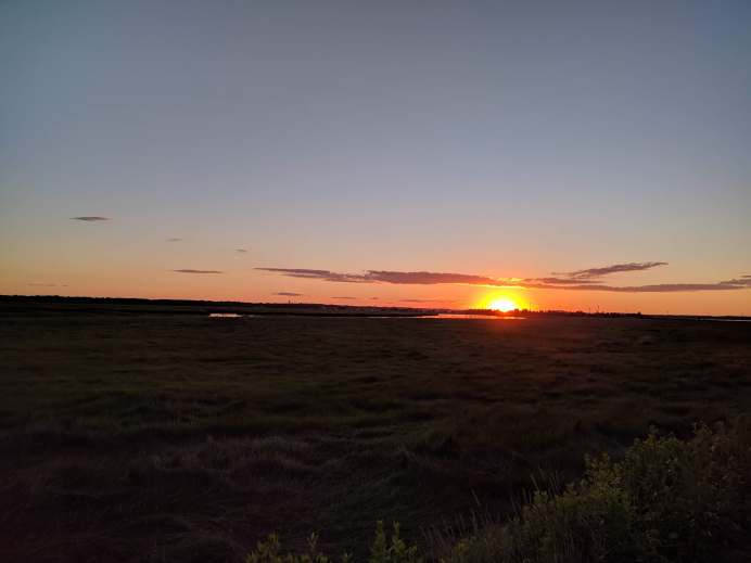 Sunset at Newburryport, MA