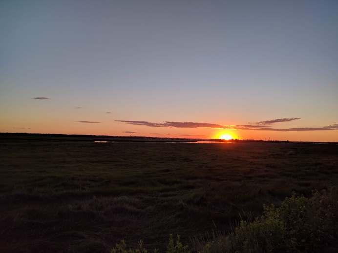 Sunset at Newburryport, MA