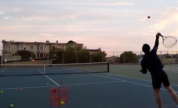Tennis serves